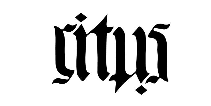 create an ambigram in illustrator by nurul20