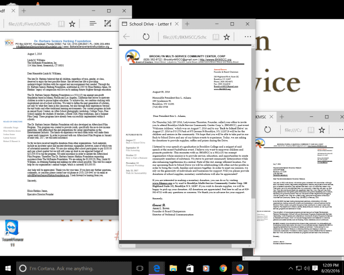 create a letter of inquiry or grant proposal letter by amonib