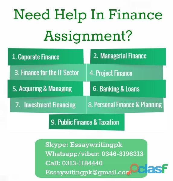 buacc5934 financial management assignment Discover the best homework help resource for finance at institute of business management 1 buacc5934 financial accounting assignment semester.