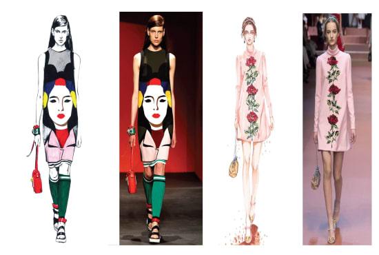 Co Fashion Cafe Illustration Packaging Design Fiverr
