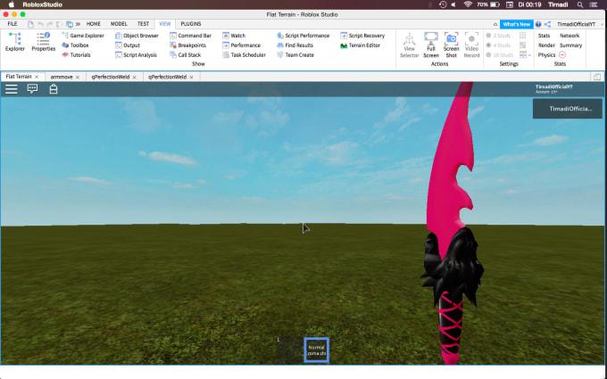 Team Build Roblox Studio