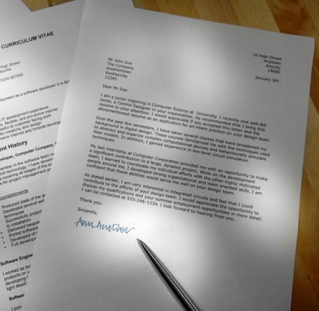good cover letter introductions