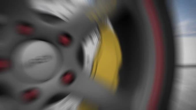do motorsport car intro logo animation