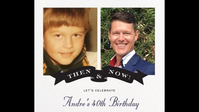 Andre 40th Birthday Slideshow