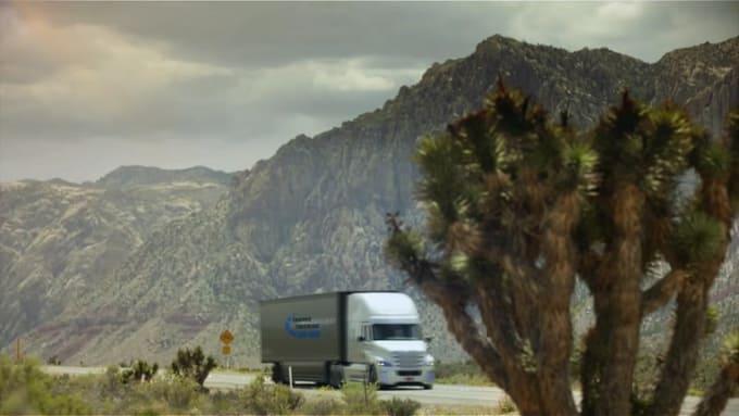 truck logo Thanks Trucking 1080p Optical