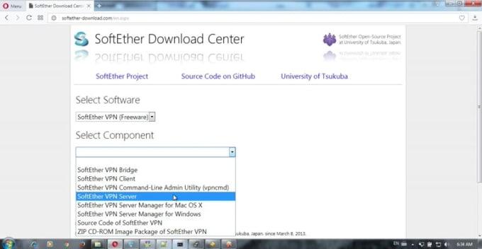 install Softether openvpn, l2tp, sstp vpn on your VPS