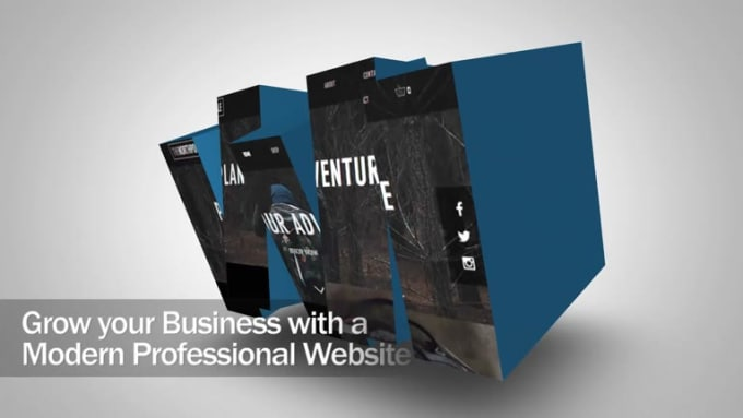 create promo video for your business, product or website
