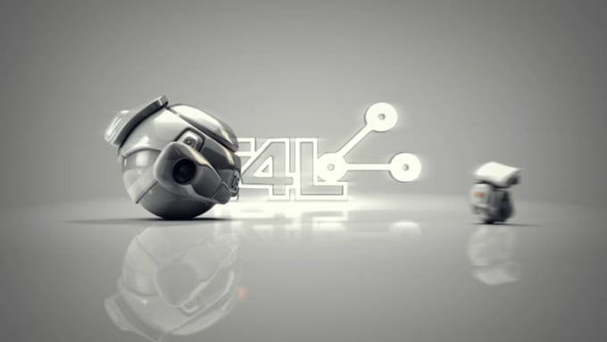 give you logo videos1080p wall e like robots