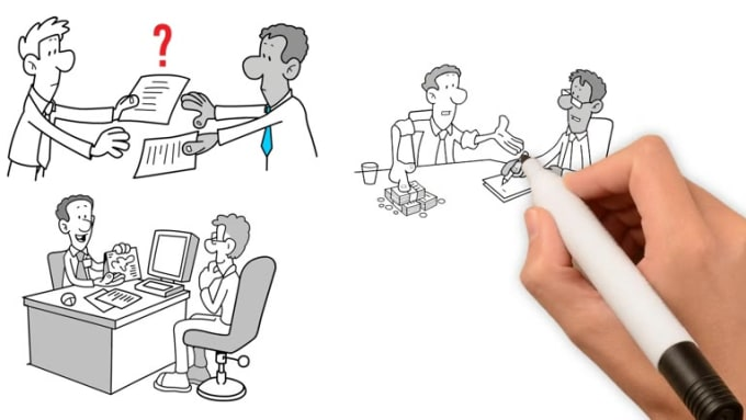 create a mindblowing whiteboard animation video