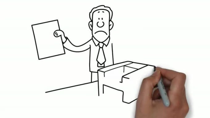 create a professional whiteboard animation video