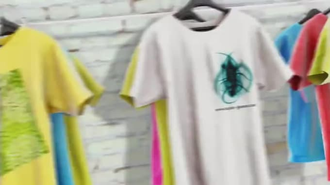 xytec-games T-shirt Brand promo video in 1080p Full HD High Quality
