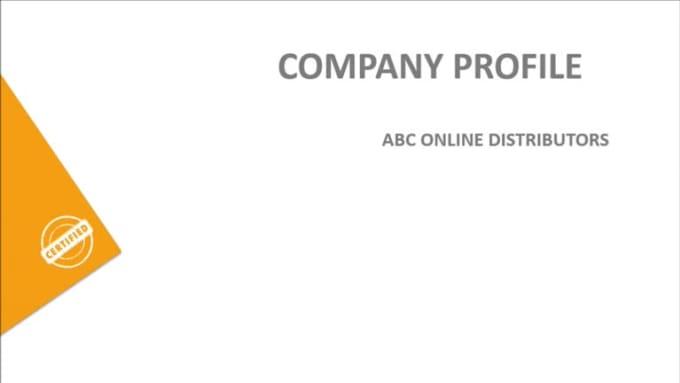 Proper Business profile for mam cremen