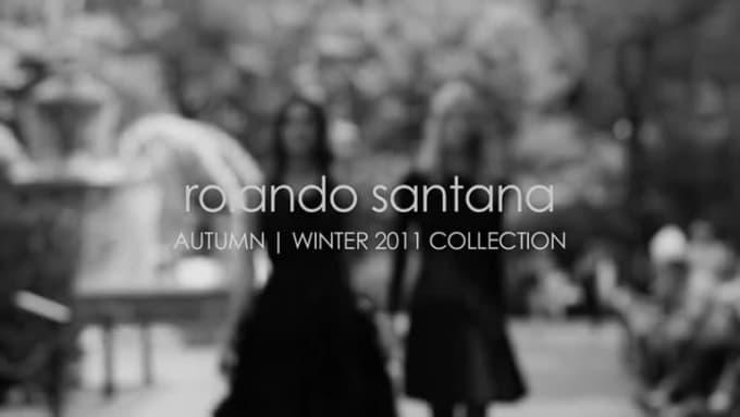 Rolando Santana Fall 2011 Campaign