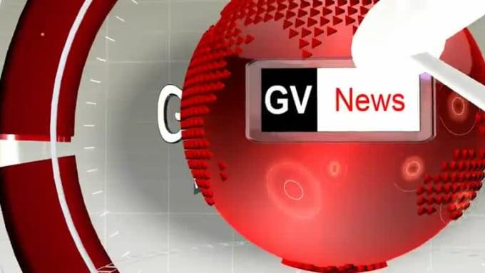 3D News Presentation  Red acegod