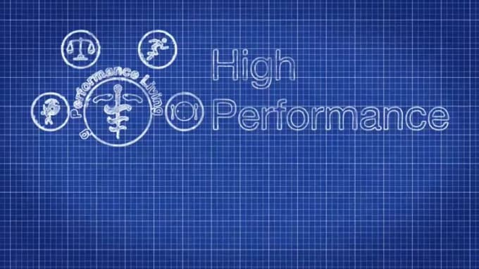 high performance life print