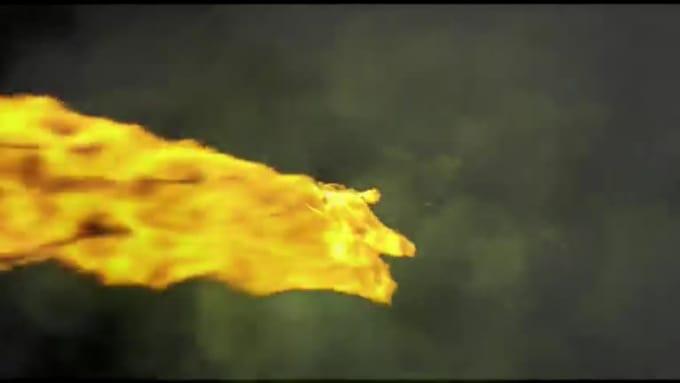 fire dragon vid