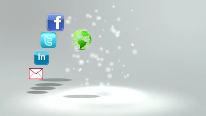 social accounts - volandrea