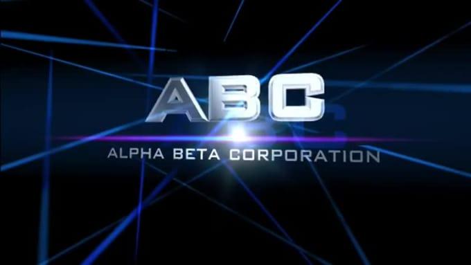Cinematic Video Intro - ABC - Blue