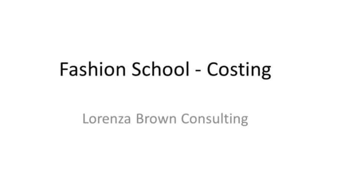 Fashion School - Module 4