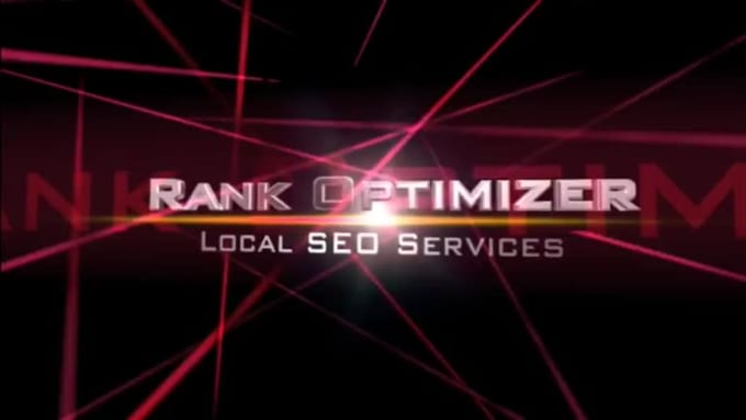 Cinema Intro - Rank Optimizer - Red
