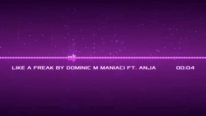 LIKE_A_FREAK_BY_DOMINIC_M_MANIACI_AND_ANJA_MusicVisualization_Preview