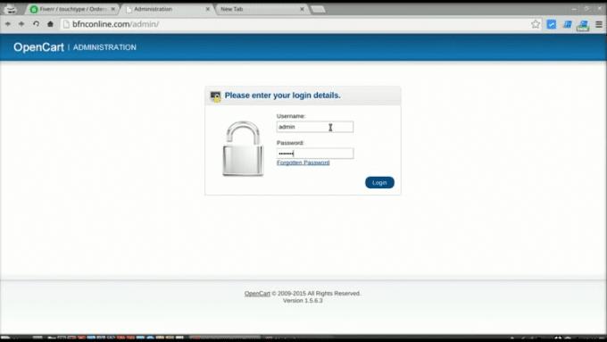 change_admin_password_opencart