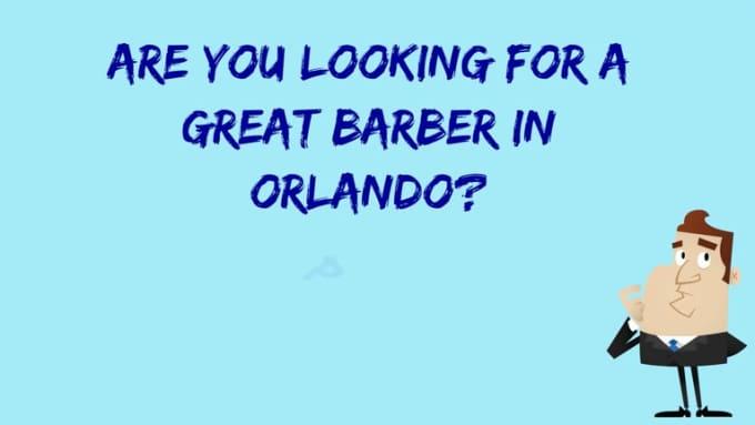Barber in Orlando