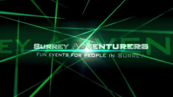 Cinema Intro - Surrey Adventurers - Green