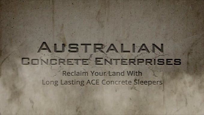 ACE Crumble Effect Logo Video Intro in Full HD