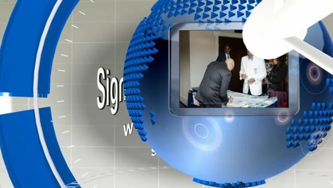 MODIFIED 3D News Presentation Blue gomab02
