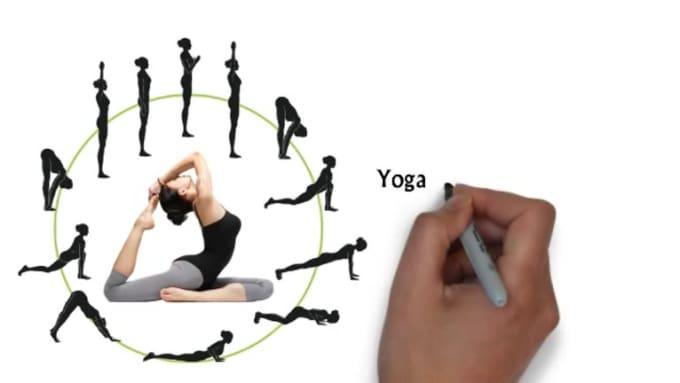 a yoga b