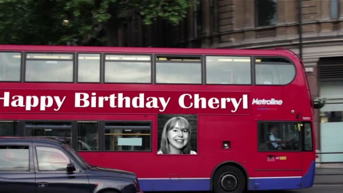 Happy Birthday  Cheryl