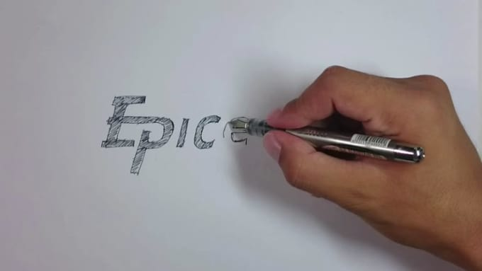 black pen video intro
