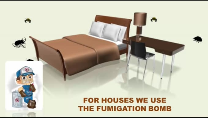 outdoor spider fumigation product