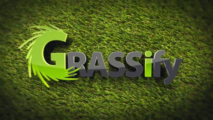 Logo Reveal 3D_Grassify V2