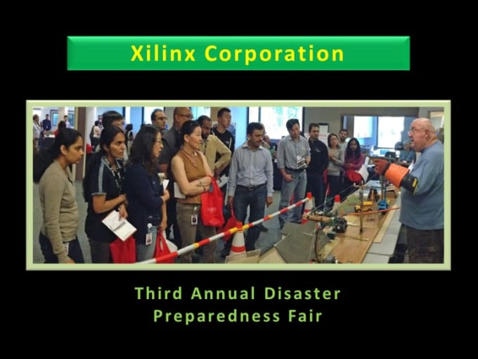 Xilinx Disaster Prep 13 Oct 15
