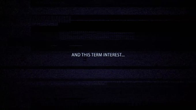 And this term interest
