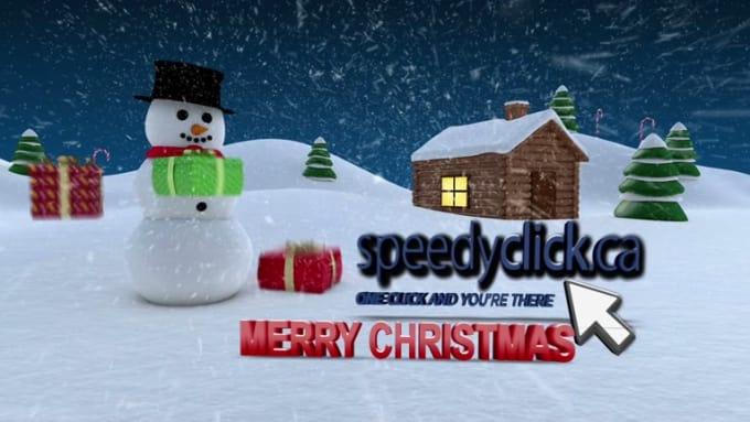 Speedclick Christmas video