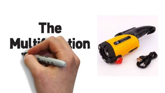 The Multifunction Flashlight