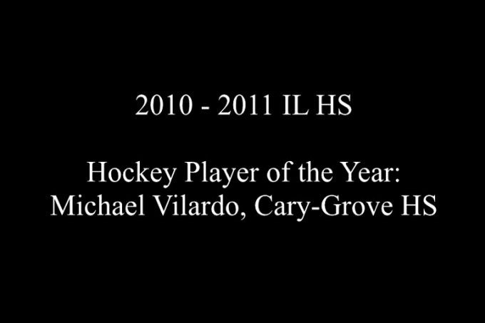 IL HS Hockey Player - Michael Vilardo