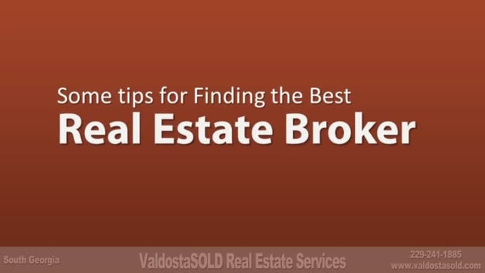 Real Estate Broker Video