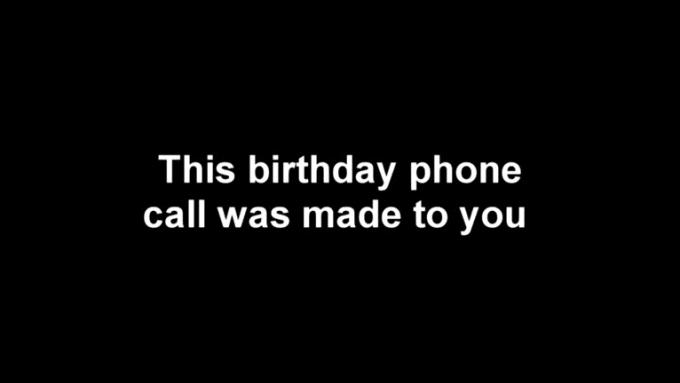 Obama Birthday Call - Richard 2