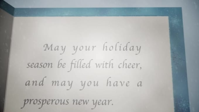holiday greeting card - billrisser