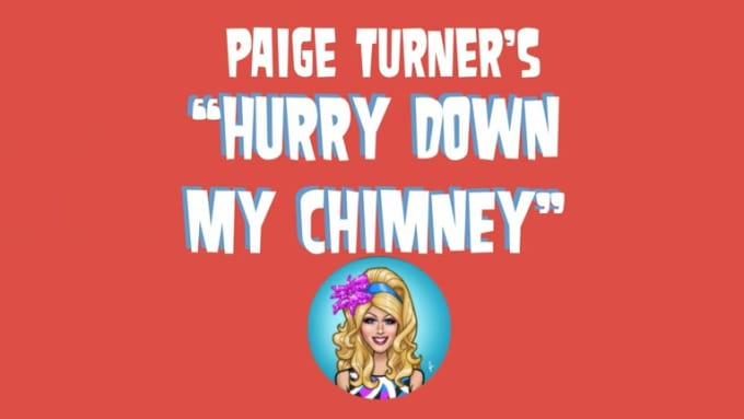 Paige Turner Merry Christmas Video