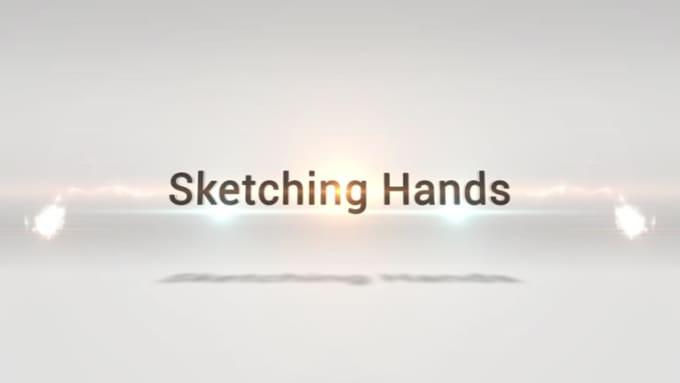 Sketching hands new