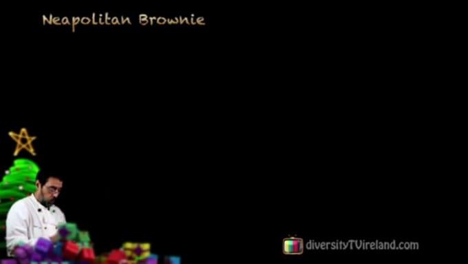 Neapolitan Brownie-SD