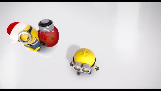 Minion Christmas Bulb2
