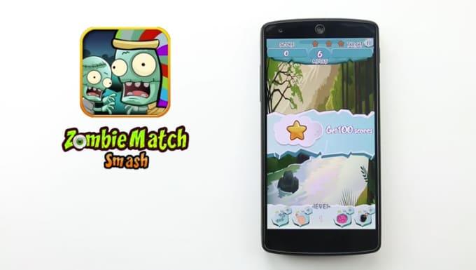 Zombie Match Smash done