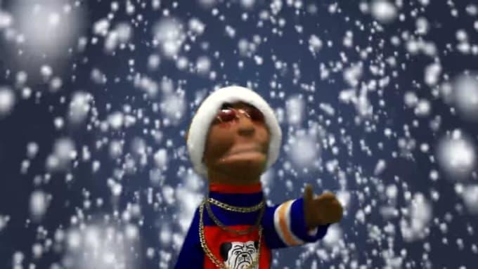 Puppets CHRISMAS GIG FOR katsent B 2