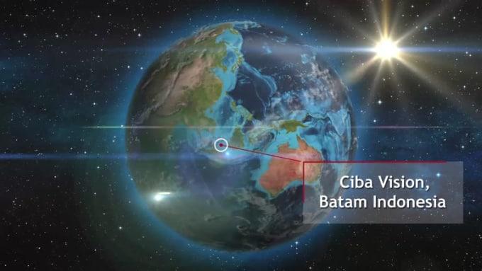 Ciba Vision, Batam Indonesia_Z00M IN_20 secs